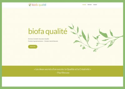 Biofa Qualité